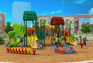 2017 New High-Quality Outdoor Playground Equipment Slide (HD17-013A) pictures & photos