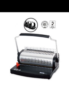 U2106 A4 Size Plastic Comb Binding Machine with U Handle pictures & photos