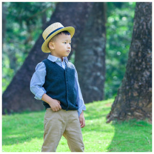 Wool Kids Clothes Children Jacket for Boys pictures & photos