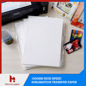 A4/A3 Sheet Size 100GSM Sublimation Transfer Paper Anti-Curl for Mouse Pad, Mug, Hard Surface
