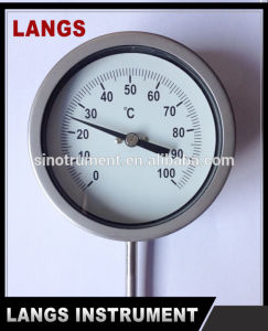 "012 Hot Water Thermometer and 2.5"" Lip on Thermometer pictures & photos"