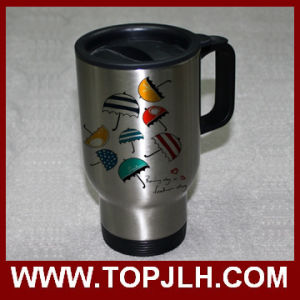 Heat Press Printed Stainless Steel Car Mug Driver Coffee Cup