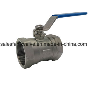 Stainless Steel 1PC Ball Valve with Internal Thread