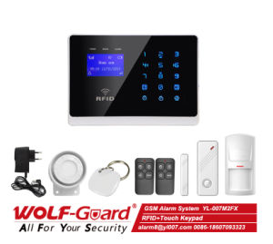 GSM RFID Home Alarm with Touch Screen