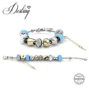 Destiny Jewellery Crystal From Swarovski Mylady Charm Beaded Bracelet