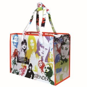 Durable PP Woven Carry Bag with OPP Film Laminated pictures & photos