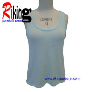 Fashion Ladies Garment Pure Color Vest (RKV1391)