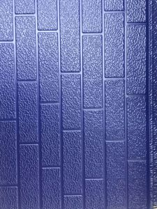 Embossing Metal PU Foam Decorative Wall Panel