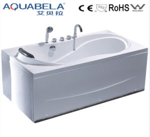 One Person Use CE Acrylic Bathtubs with Pillow (JL814) pictures & photos