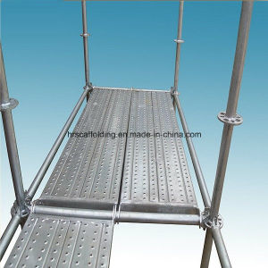 48X3.25 High Grade Q235 Steel Hot DIP Galvanized Ringlock Steel Scaffolding for Sale pictures & photos