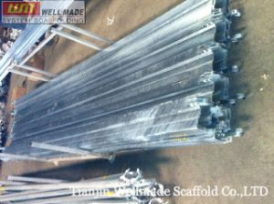8′ Galvanized Cuplock Scaffolding System Steel Toe Board pictures & photos