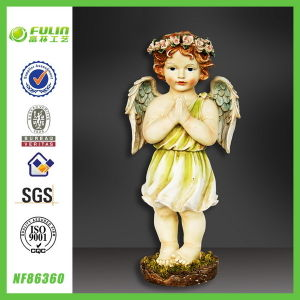 Bright Baby Statue Garden Resin Cheap Angel