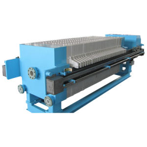 1000 Series Chamber Type Filter Press with Automatic Plate Shifting Device