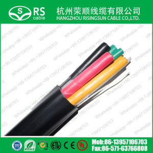 Multi Core 5*CT100 Composite Cable Easy Installtion