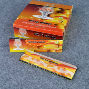 Hornet Pineapple Handroll Kingsize 110mm 25booklets Flavored Rolling Papers (ES-RP-027) pictures & photos