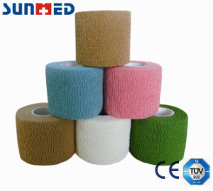 Latex Free Cotton Cohesive Bandage pictures & photos