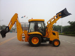 Everun Brand CE Certificated Backhoe Wheel Loader Construction Machine pictures & photos