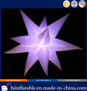 Colorful Party, Entertainment, Event LED Lighting Ceiling Decoration Inflatable Star 030
