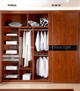 Solid Wood European Wardrobe Sliding Door (SD 37)
