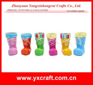 Easter Decoration (ZY15Y358-1-2-3-4-5-6) Easter Rainbow Boot pictures & photos