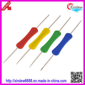 Double Heads Plastic Handle Iron Crochet Hooks (XDIH-004) pictures & photos