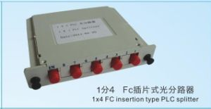 1X4 Insert Type PLC Splitter O for FTTH Distribution Box pictures & photos
