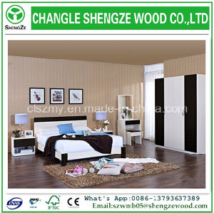 2015 Popular Wooden Double Bed Design Furniture
