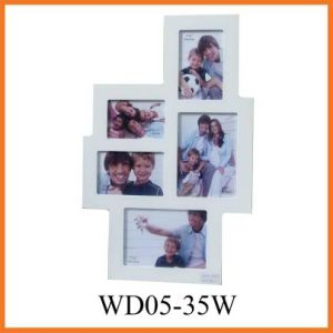 Wooden Collage Phote Frame (WD05-35W) pictures & photos