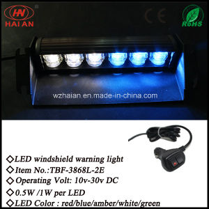 New LED Strobe Windshield Lights with Suction (TBF-3868L-2E) pictures & photos