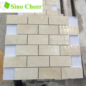 Crema Marfil Brick Mosaic Wall Tile
