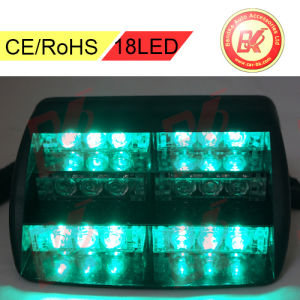 Vehicle Strobe Lights >> 18 Led Emergency Vehicle Strobe Lights Green