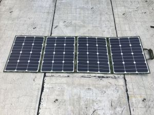 Sunpower Foldable 160W Solar Charger for Motorhome pictures & photos