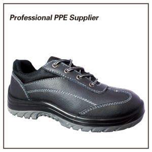 Fashion Design Genuine Leather Industrial Safety Shoes pictures & photos
