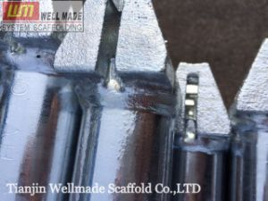 Galvanized Steel Ringlock System Ring Lock Scaffold Ledger pictures & photos