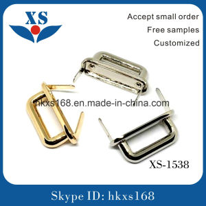Metal D Shape Buckle Ring for Handbags