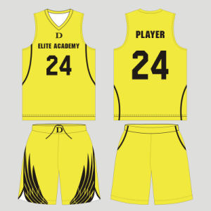 Custom Youth Sublimation Basketball Uniform for Clubs pictures & photos