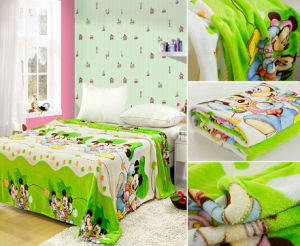 Mouse Design Flannel Blanket 200*240 pictures & photos