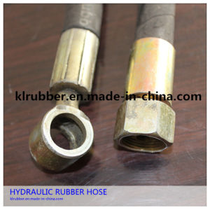 Hydraulic Rubber Flexible Brake Hose Assembly pictures & photos