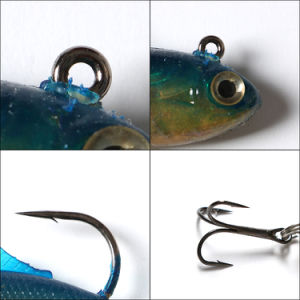 "4/"" Soft Plastic Lime Green Fishing Bait Lures QTY - 50"