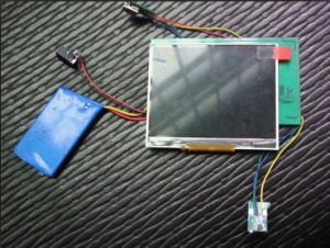 2.4 Inch Video Card Module with Rechargeable Li-Battery for Photo Frame (ZXS-3263)