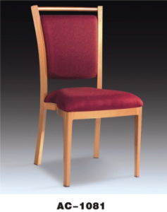 Modern Hotel Restaurant Dining Imitation Wood Chair (AC-1081)