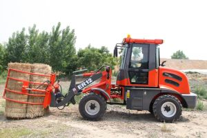 Er12 Multi-Function Wheel Loader with Grass Folder (CE) pictures & photos
