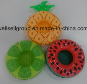 Swim Inflatable Water Fruit Cup Floating Drink (CPCQ-003) pictures & photos