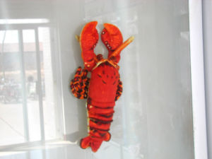 China Red Lobster China Plush Toy