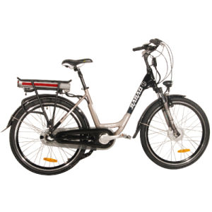 Elegant 26 Inch 36V/10ah Rear Rack Lithium Battery Lady E-Bicycle (JB-TDF17Z) pictures & photos