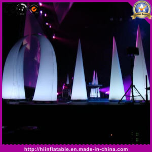 Hot-Sale Event Stage Decoration Inflatable Tube with LED Light for Show Decor