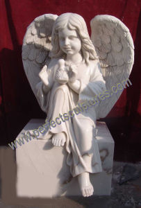 Marble Granite Angel Headstone with Angel Tombstone Angel Monument (SY-X051) pictures & photos