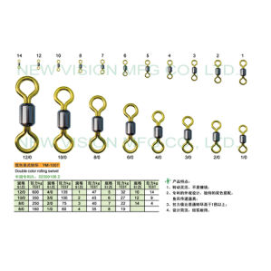Fishing Equipment Double Color Rolling Swivel pictures & photos