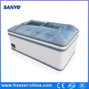 Logo Attached Available 700L Chest Freezer for Supermarket pictures & photos