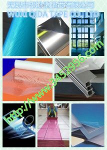 Printed High Quality Transparent PE Static Protective Film for Label Printing pictures & photos